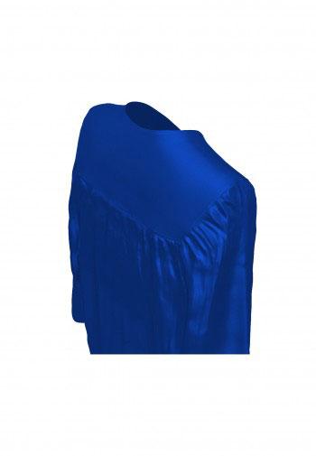Talar, GLANZ, royal-blau