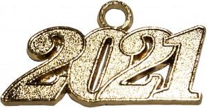 Jahreszahlanhänger für Quaste 2021