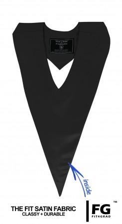Schärpe V-Form schwarz