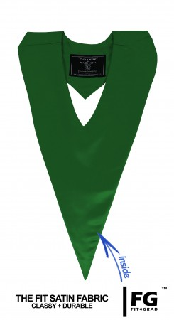Schärpe V-Form smaragd-grün