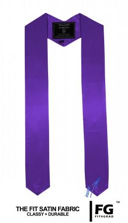 Schärpe Abschluss spitz violett