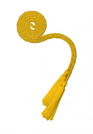 Akademische Ehrenkordel gold-gelb