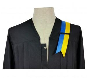 blau-gelbe Banderole