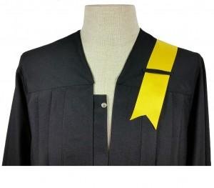 gold-gelbe Banderole