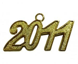Jahreszahlanhänger für Quaste 2011