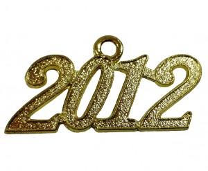 Jahreszahlanhänger für Quaste 2012