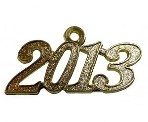 Jahreszahlanhänger für Quaste 2013