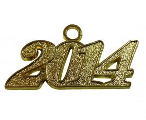 Jahreszahlanhänger für Quaste 2014