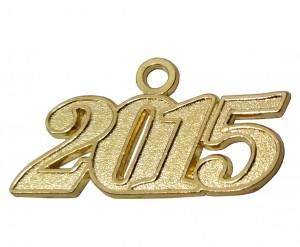 Jahreszahlanhänger für Quaste 2015