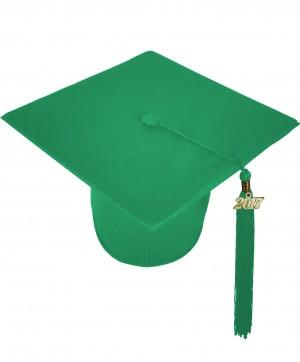 Doktorhut, MATT, Einheitsgröße, smaragd-grün
