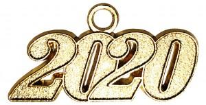 Jahreszahlanhänger für Quaste 2020