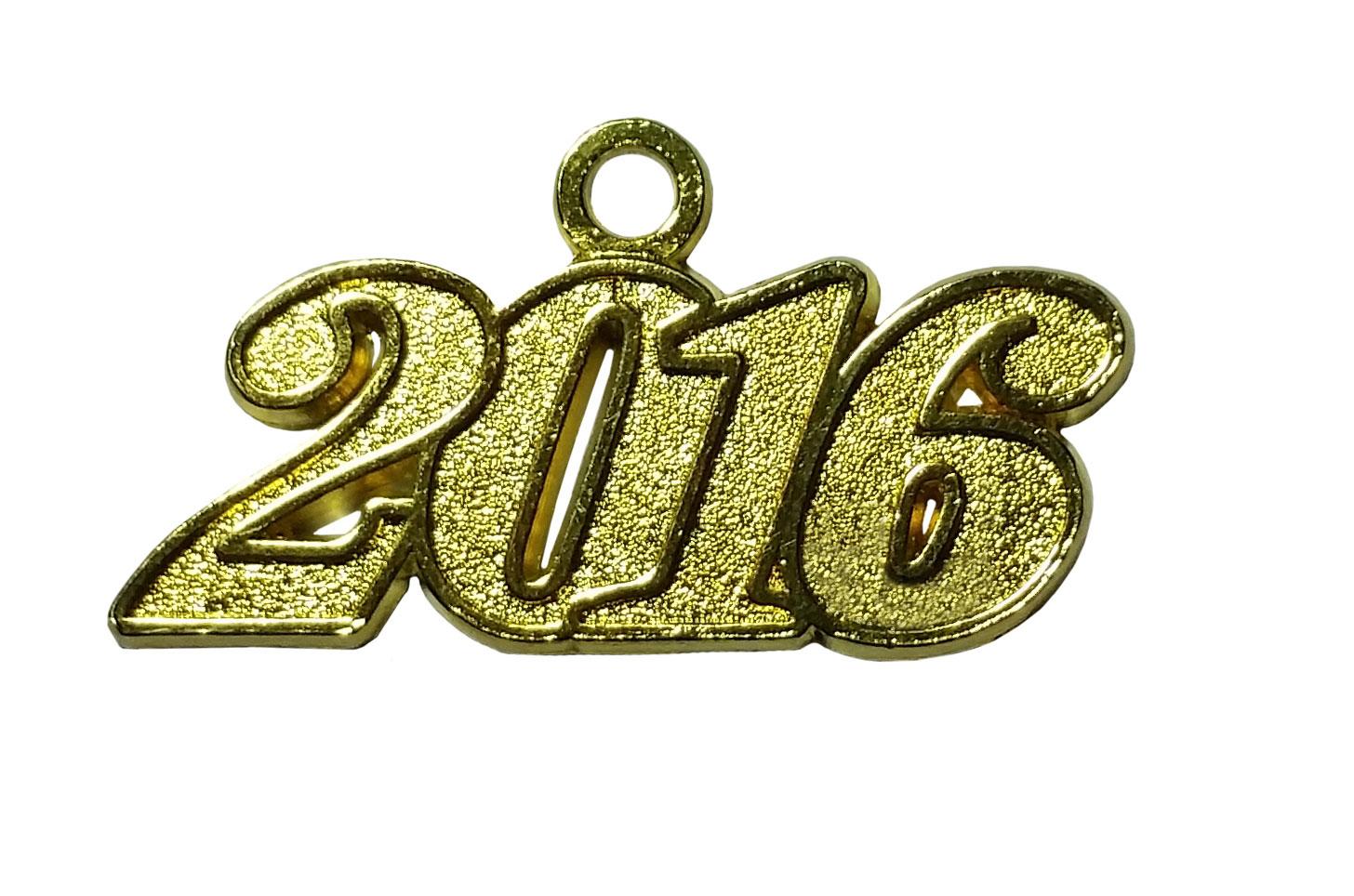 Jahreszahlanhänger für Quaste 2016