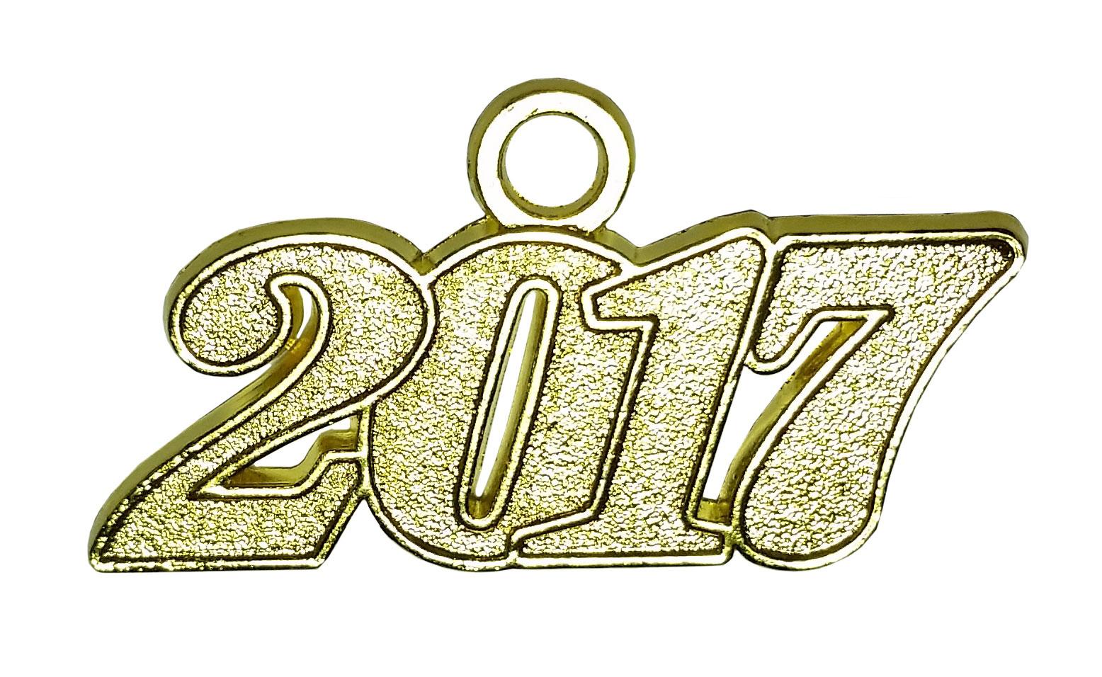 Jahreszahlanhänger für Quaste 2017