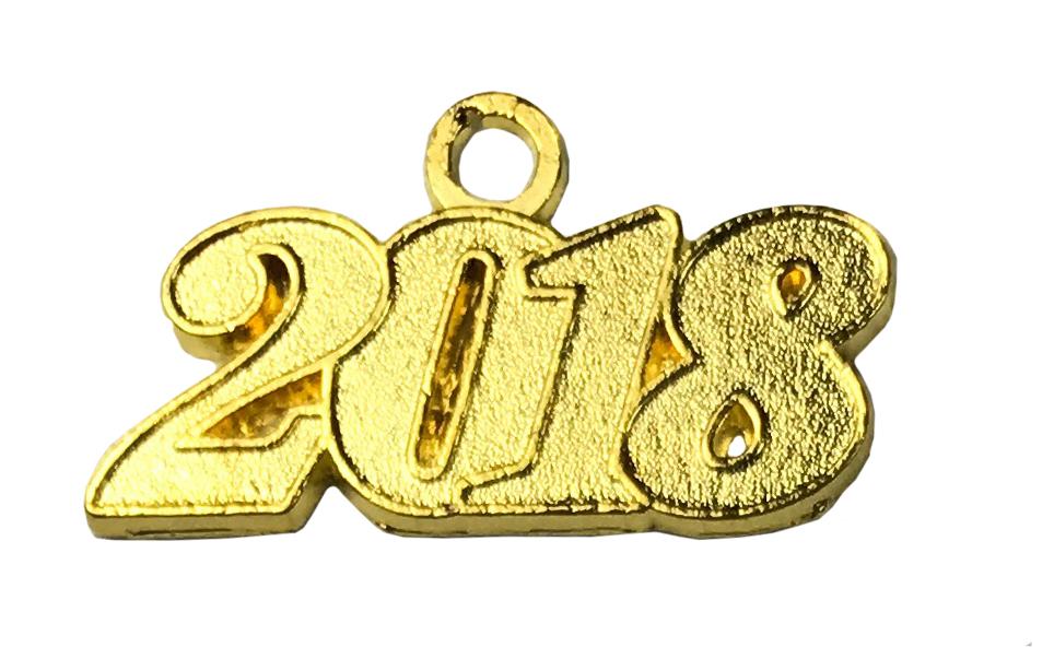 Jahreszahlanhänger für Quaste 2018