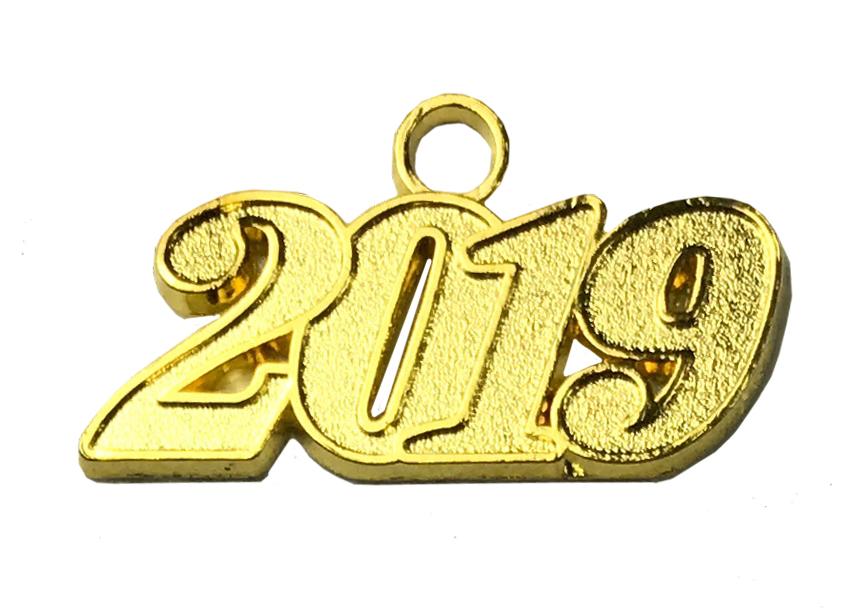 Jahreszahlanhänger für Quaste 2019