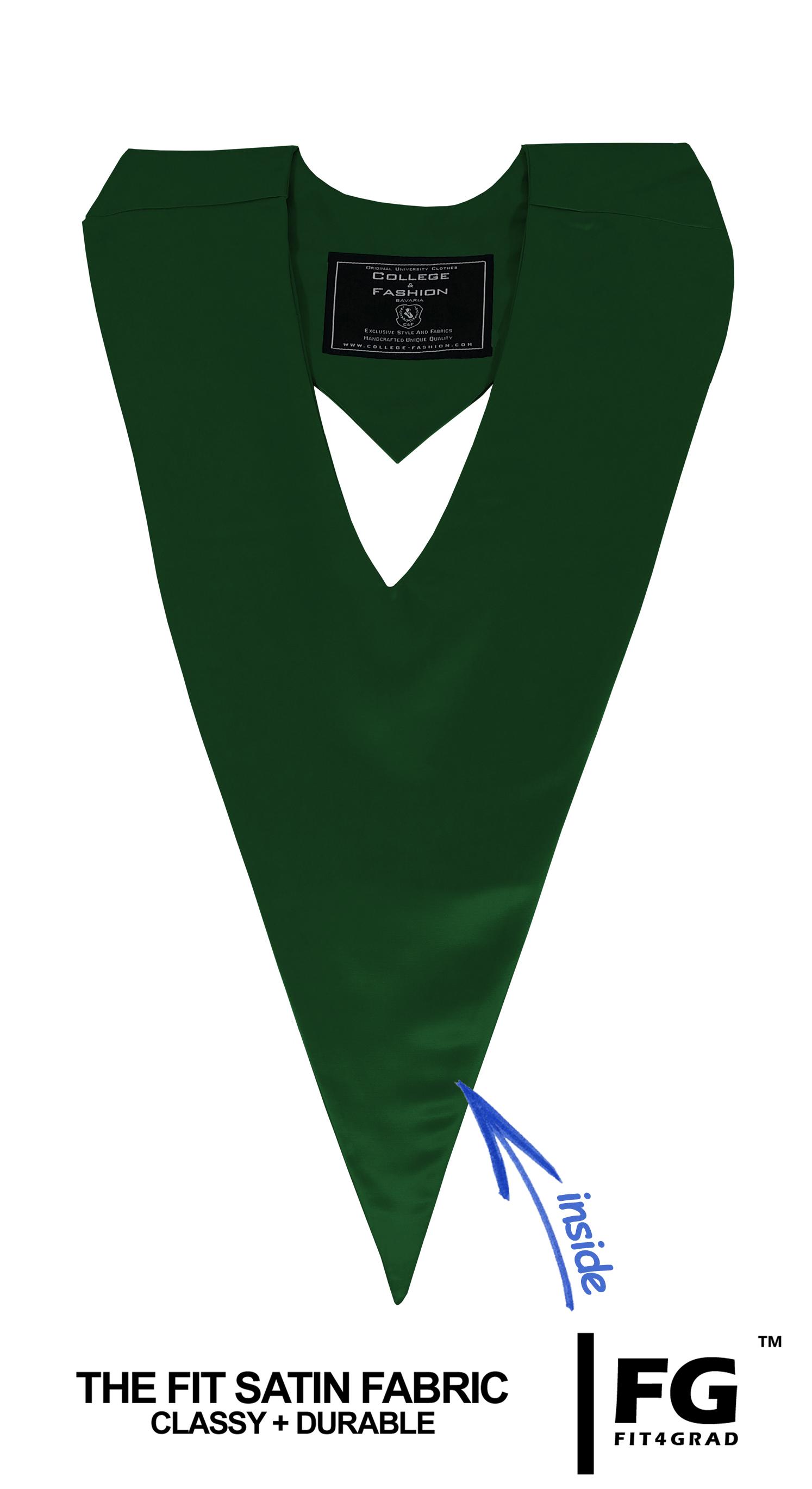 Schärpe V-Form forst-grün