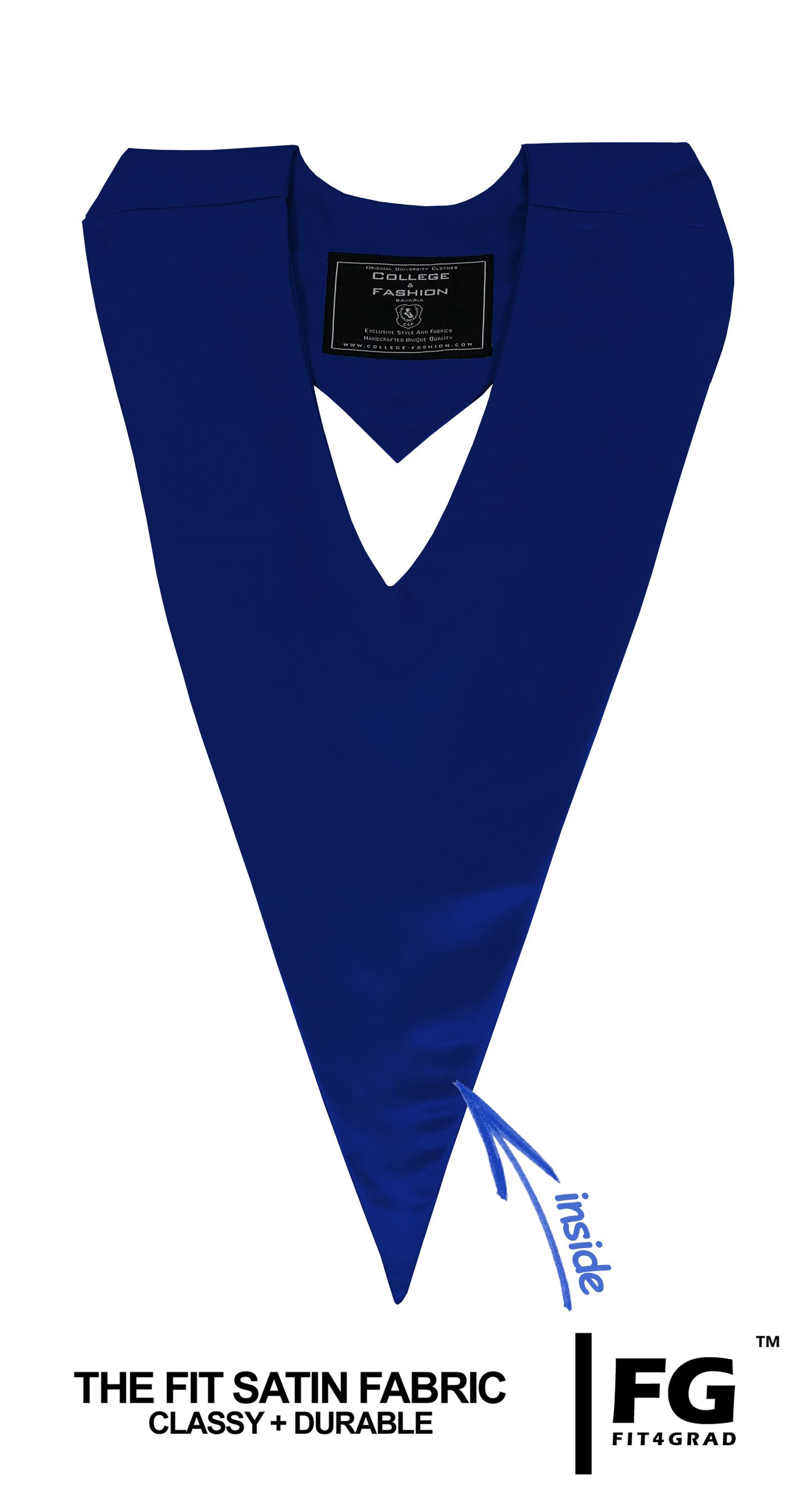 Schärpe V-Form dunkelblau