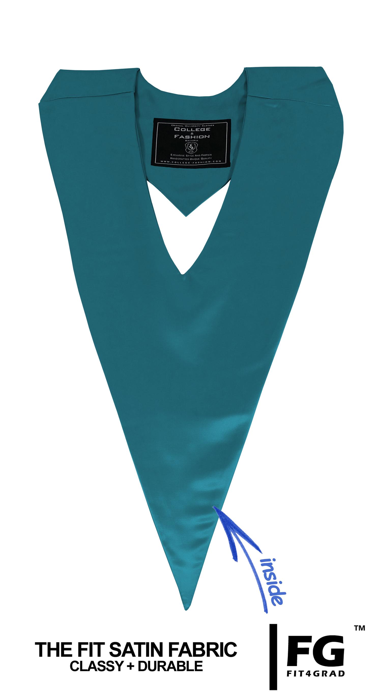 Schärpe V-Form türkis