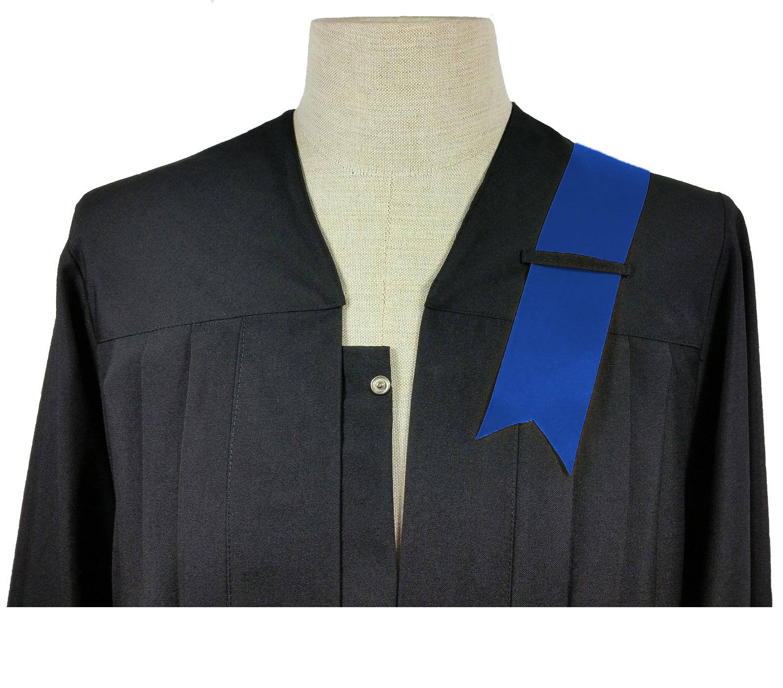 royal blaue Banderole