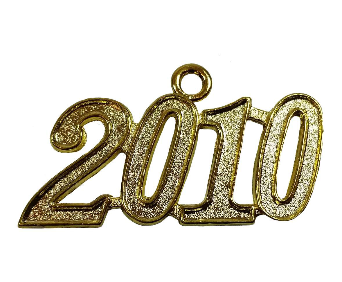 Jahreszahlanhänger für Quaste 2010