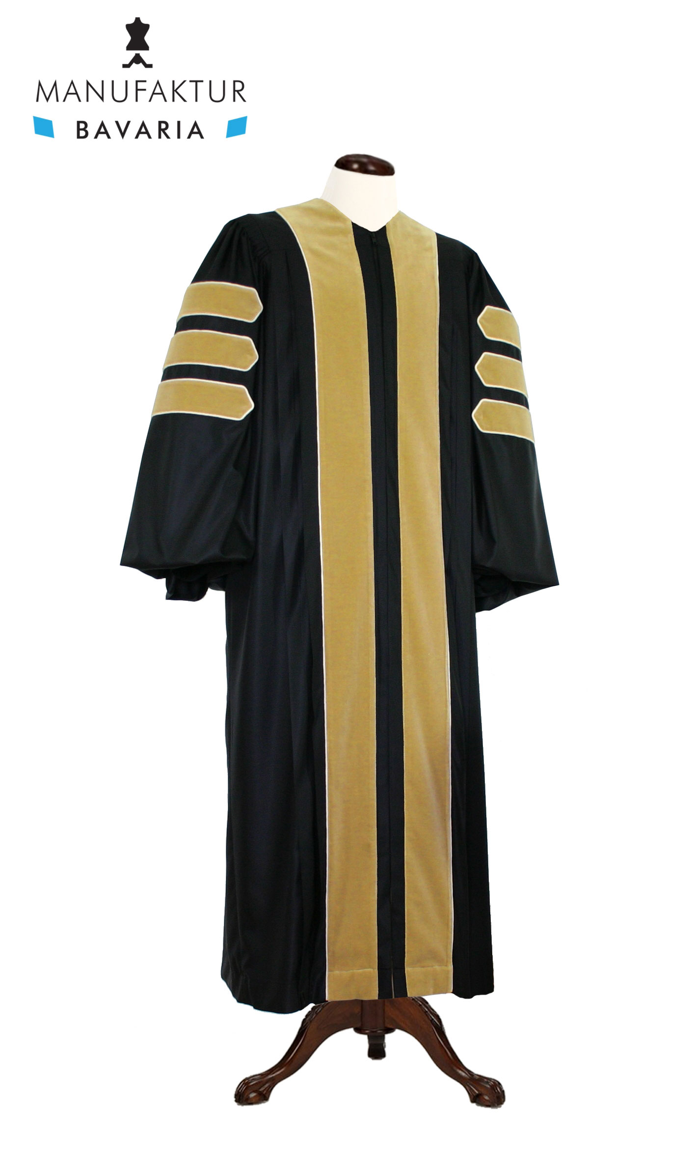 Deluxe Doctoral Of Agriculture Academic Gown For Faculty