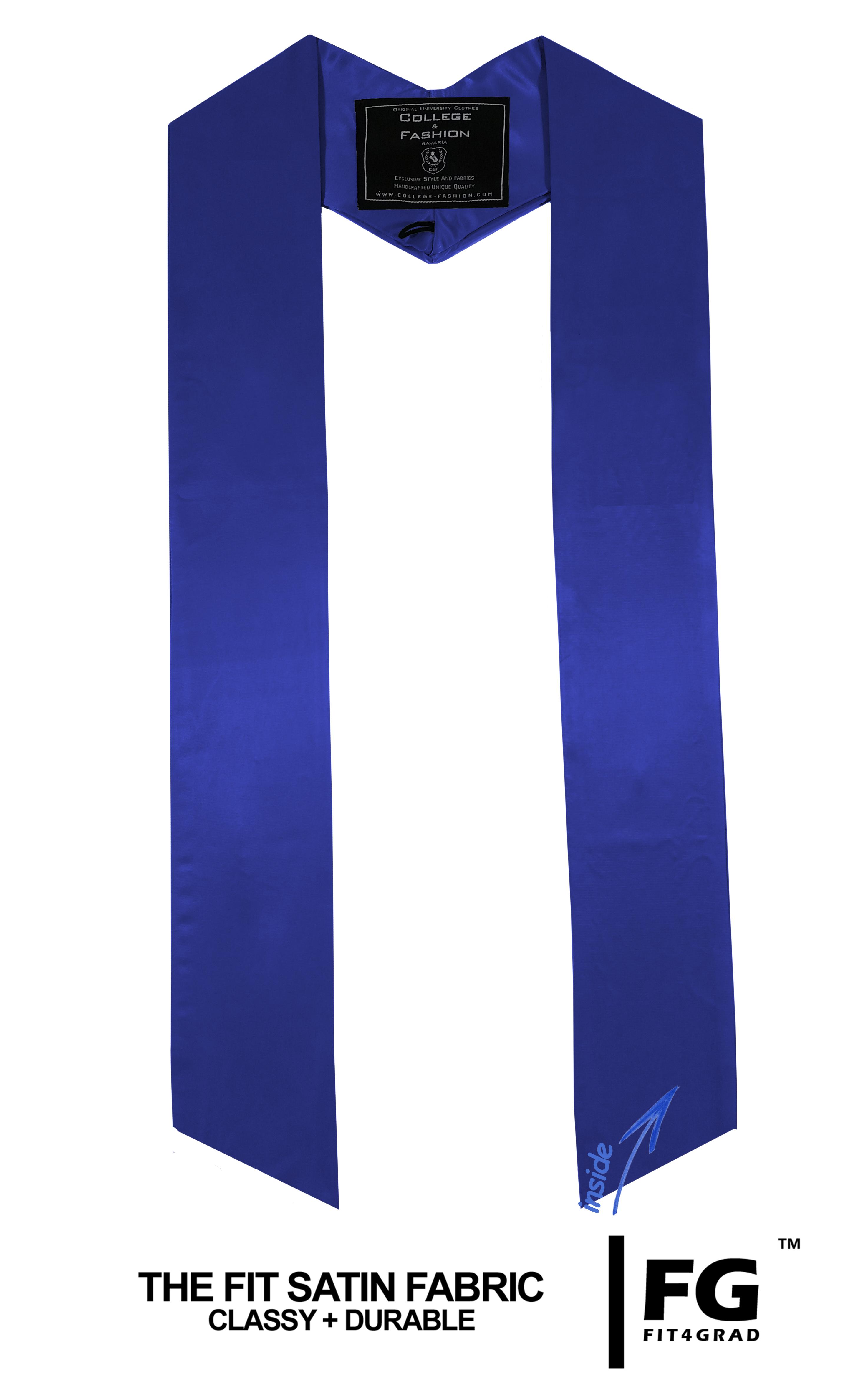 einfarbige Schärpe in royal/blau