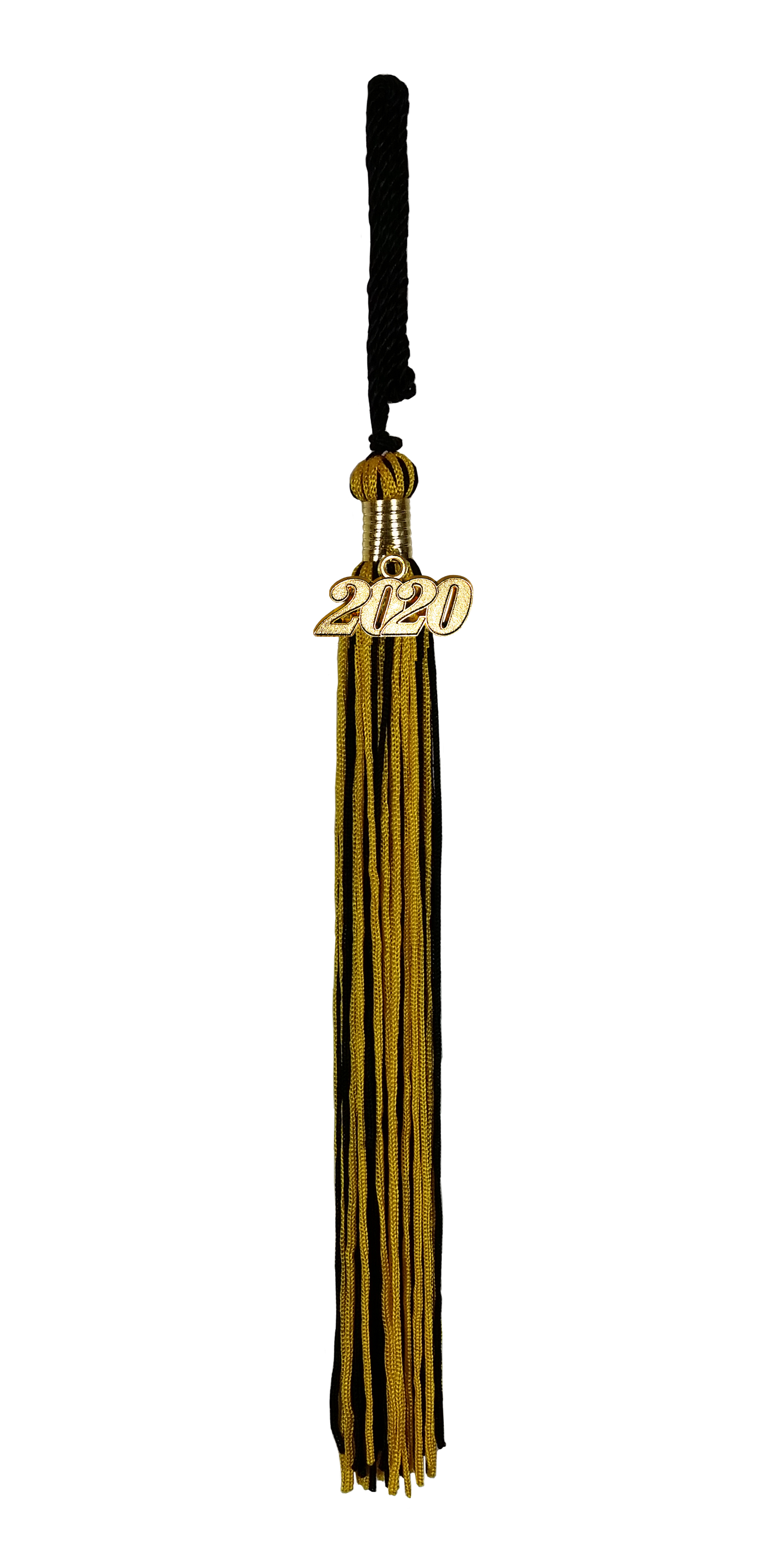 schwarz-gold mit Jahreszahl